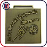 Wholesale Personalised Athletic Miniature Copper Medal from china suppliers