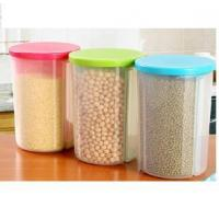 Wholesale Kitchen Divided Plastic Sealed Box Dry Food Storage Crisper Cereal Container with Lids from china suppliers