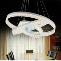 Wholesale Office Lighting Fixtures Luxury Modern chandelier circle chandelier lights from china suppliers