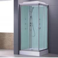 Black color shower hydro cabin 7003