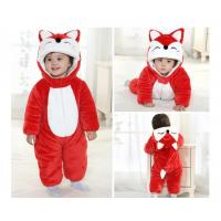 Wholesale Baby Character Dress- Red Fox, 100% polyester micro fiber mink. from china suppliers