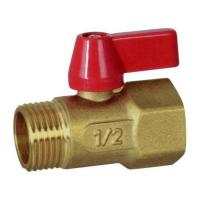 Buy cheap Float-operated Water Tap Series ZP537 Mini brass ball valve(M F) from wholesalers