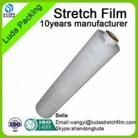 PE 17mic Hand Use Transparent Plastic Foil Packaging Roll Film