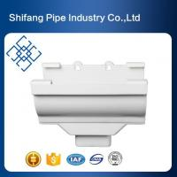 Wholesale PVC Gutters Plastic Rainwater Gutter Hoppers for Gutter System from china suppliers