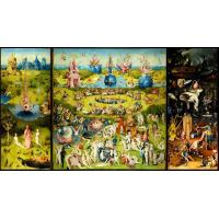 Wholesale Canvas prints Precious art printed poster of the Garden of Earthly Delights from china suppliers