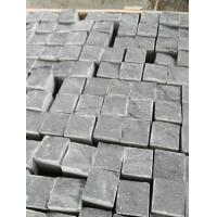 Buy cheap Zhangpu Black Cobble Stone Natural Finished from wholesalers
