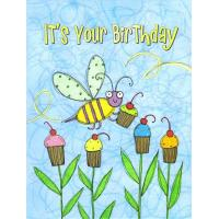 Wholesale Sugar Buzz Petite Bee Birthday Card from china suppliers
