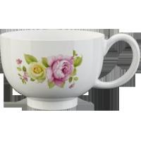 Daily Porcelain Flower Coffee Cup