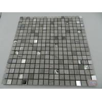 Wholesale Construction Interior Crystal Pure Color Crystal Glass Mosaic Wall Decoration from china suppliers