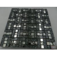 Mosaic Building Decoration Material Kitchen Wall Tile Glass Mixed Marble and Crystal Resin Mosaic