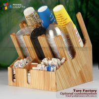 Cafe Condiment Table Broom Organizer
