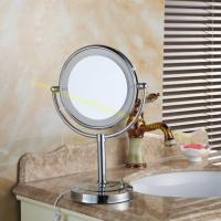 Wholesale Fashion Popular Desktop LED Makeup Mirror Standing Magnifying Mirror from china suppliers