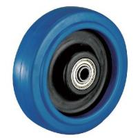 Wholesale Product Model:A4045 Product Name:Heavy Duty Elastic Rubber wheel caster from china suppliers