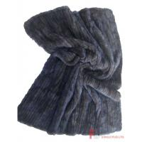China Fur Blanket & Throw & Pillow Knitted Mink Fur Blanket on sale