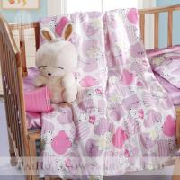 150x200cm100% silk fabric and filling quilt for baby