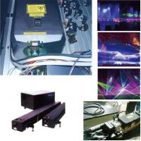 Water curtain film Colored laser show system