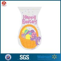China Biodegradable Printed Easter Decorative Shaped Cello Bags on sale