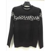 Normal black high quality merino wool man pullover sweater