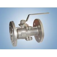 Wholesale fittings 2PC Flanged End Full Port from china suppliers
