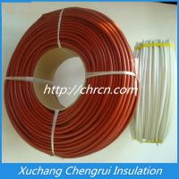 Wholesale 2753 Silicone Fiberglass Slef-extinguishing Sleeving from china suppliers
