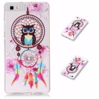 TOP Quality Printing Transparent Clear TPU Fashionable Phone Case for Huawei P8 lite