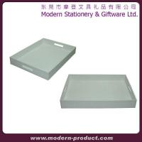 Wholesale 2013 new style fashionable leather hotel service tray from china suppliers
