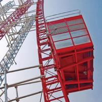 Buy cheap Curve Construction Hoist from wholesalers