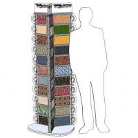 Buy cheap Tile Displays 3-SIDED ROTATING LISTELLO/TILE/STONE DISPLAY (033T) from wholesalers