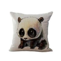 Buy cheap CUSHIONS Cotton Linen Blended Printed Cushion- Panda from wholesalers