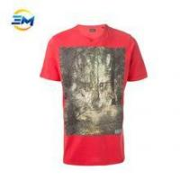 Buy cheap Custom high quality Men T-shirt with Printing from wholesalers
