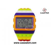Buy cheap Plastic watches Big colorful digital plastic watch from wholesalers