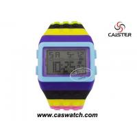 Buy cheap Digital watches Colorful big plastic LCD digital watch from wholesalers