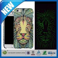 Wholesale C&T Lion Aztec Animal Faces Luminous Effect Fluorescent Glow in the Dark Back Cover for iPhone6 from china suppliers