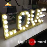 Wholesale Acrylic Crystal Letter ProfessionalBulbLetter from china suppliers