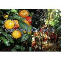 Wholesale Chihuly Style Hand Made Glass Sculpture For Garden Decoration YJ-15 from china suppliers