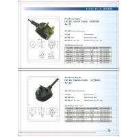 Wholesale Power line and Plug series UK BS 1363/A PLUG from china suppliers