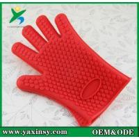 Buy cheap Easy to Tear. Heat Insulation, Anti-scalding Silicone Rubber Gloves from wholesalers