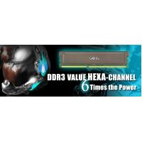 Buy cheap PC3 8500 1066MHz C7 & C8 VALUE HEXA-CHANNEL from wholesalers