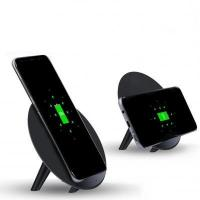 Buy cheap Round Stand 10W Wireless Charger with two coil from wholesalers