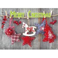 Buy cheap 3D products Merry Christmas 3D Lenticular Card from wholesalers