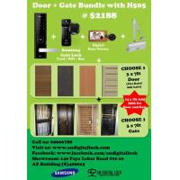 Promo 5: Door / Gate / Digital Lock / Digital Viewer / Door Closer