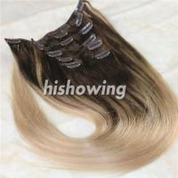 Wholesale HAIRS (CLI-C-04) Clip In 2T Color #4&18 from china suppliers