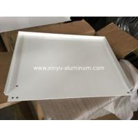 White powder coating panel with tapping and bending for the outdoor light box
