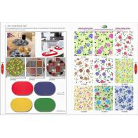 China Textile PVC FOAM PLACEMAT on sale