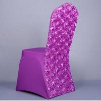 wedding rosette spandex chair covers