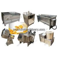 Buy cheap Automatic Small Scale Potato Chips Making Machine 150 kg/h from wholesalers