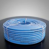 Buy cheap Galilee Air Hose TONYDX Blue Transparent Garden Hose with Two White Lines from wholesalers