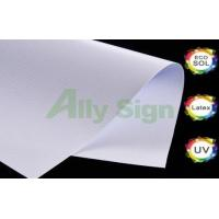 China 400g Frontlit Fine Matte PVC Flex Banner 1000*1000/18*18 on sale