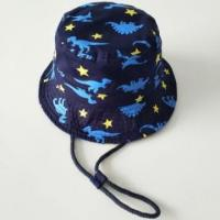 Wholesale Bucket Hats Boy dinosaur printed buket hats from china suppliers