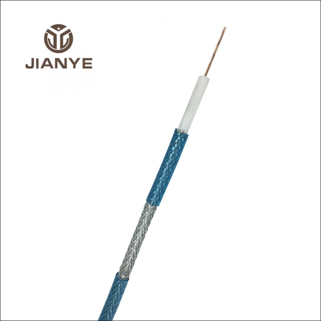 Wholesale Coaxial Cable RG6 TRANSPARENT BLUE Coaxial Cable from china suppliers